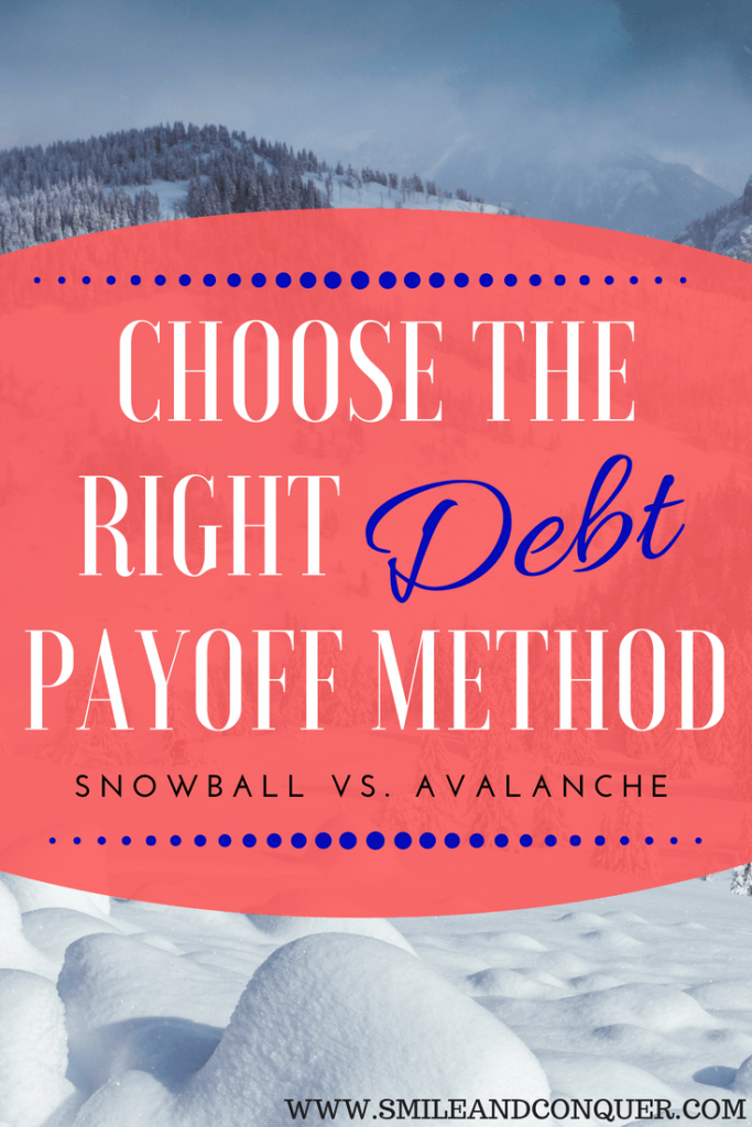 Struggling to pay off debt? You need a strategy and the two best are the debt snowball and the debt avalanche.