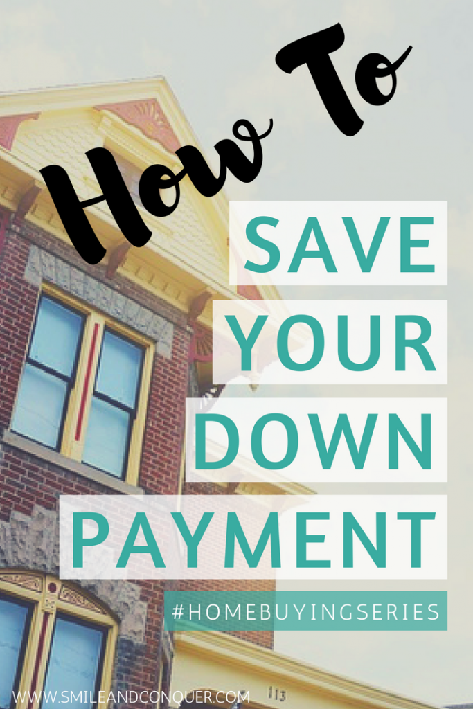 Tips for saving up your down payment fast.