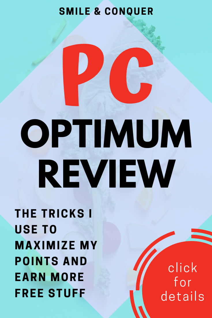 My review of the PC Optimum program and how you can maximize your points for more FREE STUFF!