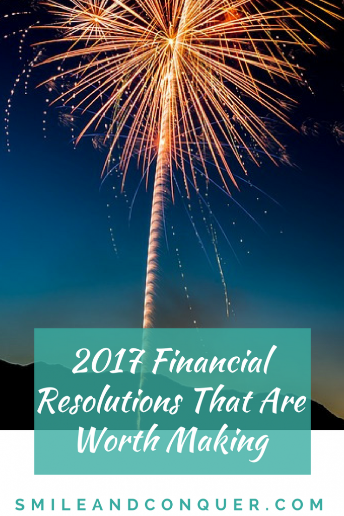 Financial resolutions that will get you on track.