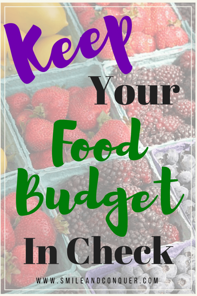 How to minimize your food budget while still eating well.