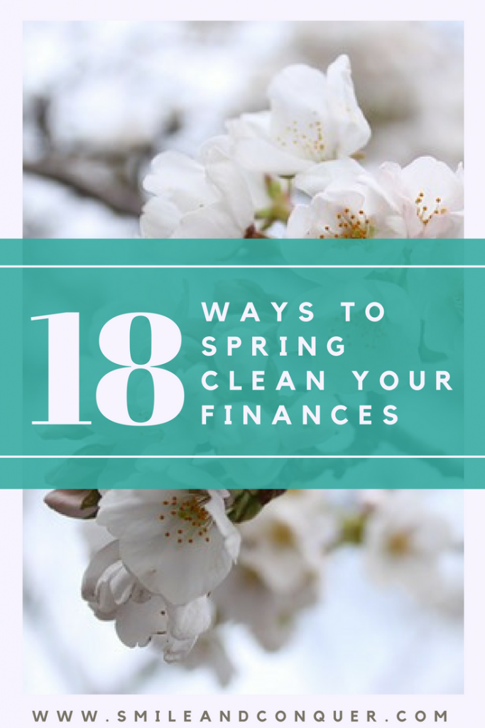 Don't just spring clean your house, spring clean your #money too!