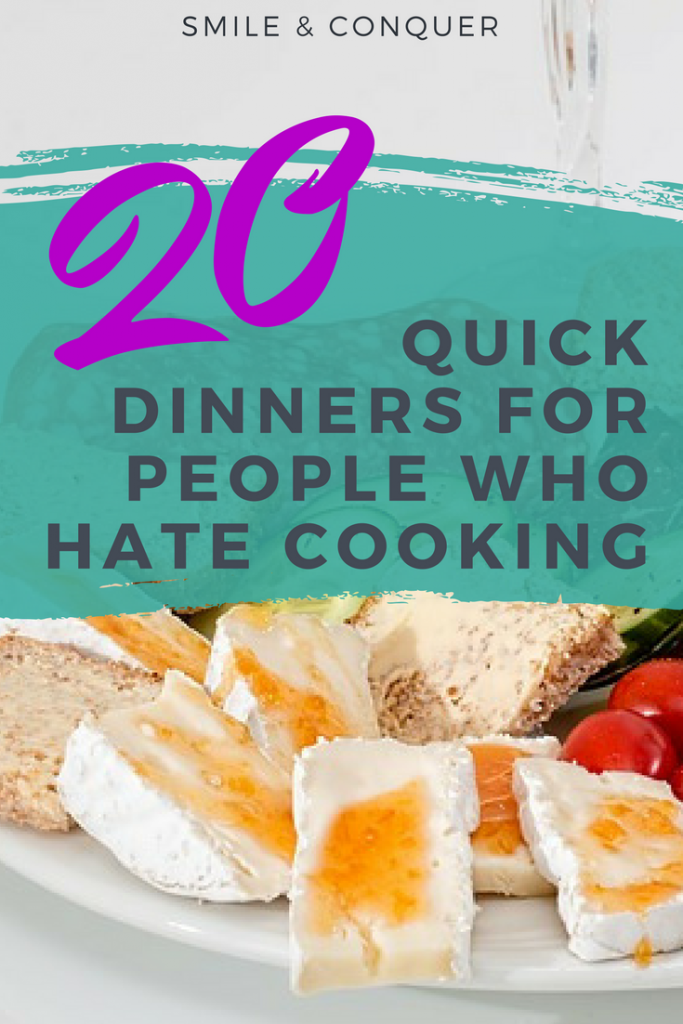 One of the best ways to lower your budget is by meal planning. But what about the days you don't want to cook?