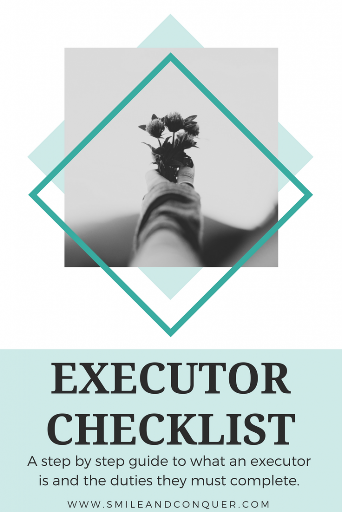 Where do you start if you've been named the executor of any estate?