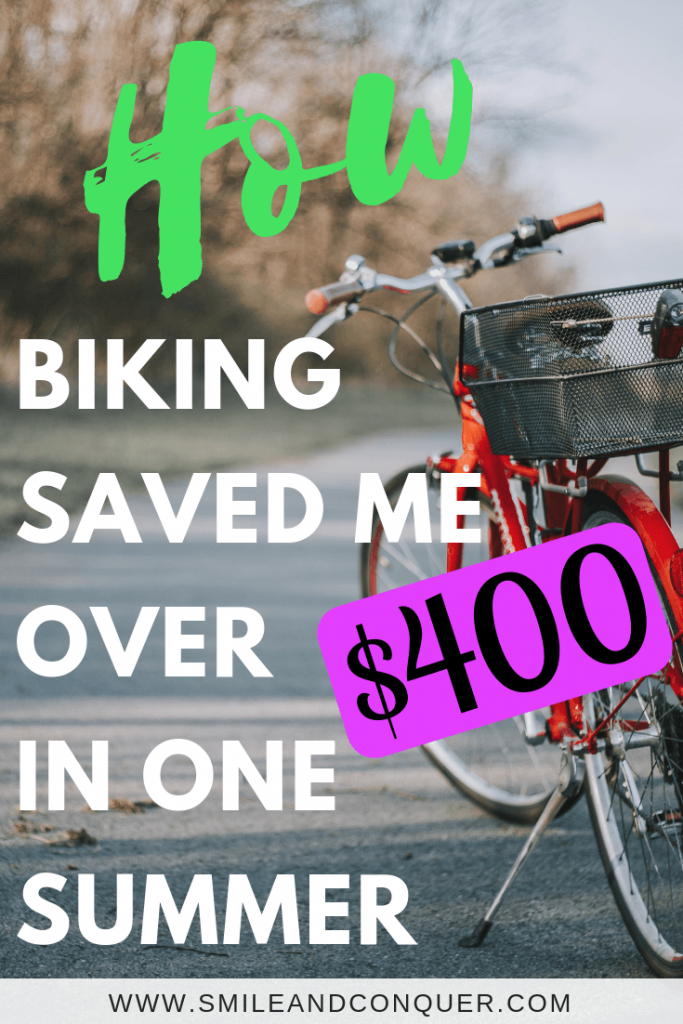 Biking saves money! Last year we sold our second vehicle and invested in new bikes. Find out how much we've saved in just one year.