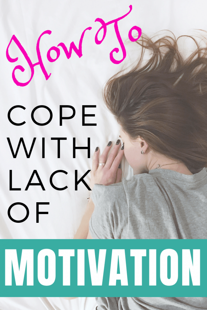How I'm fighting back against lack of motivation by focusing on small goals.