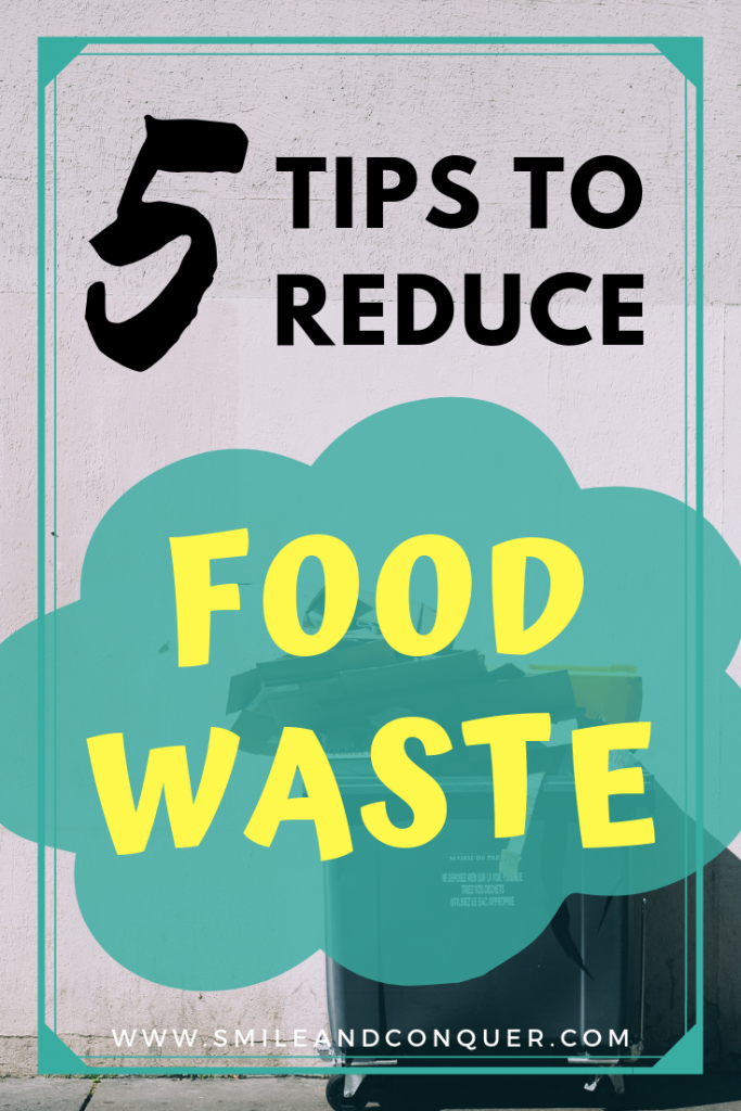 Save the environment and your money by using these 5 simple tips for reducing food waste.