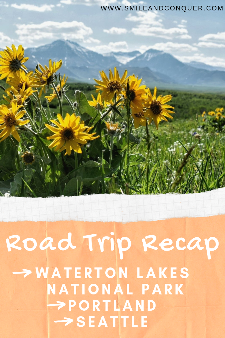 Our latest #roadtrip to the Pacific Northwest including stops in Waterton Lakes, National Park, Portland and Seattle.