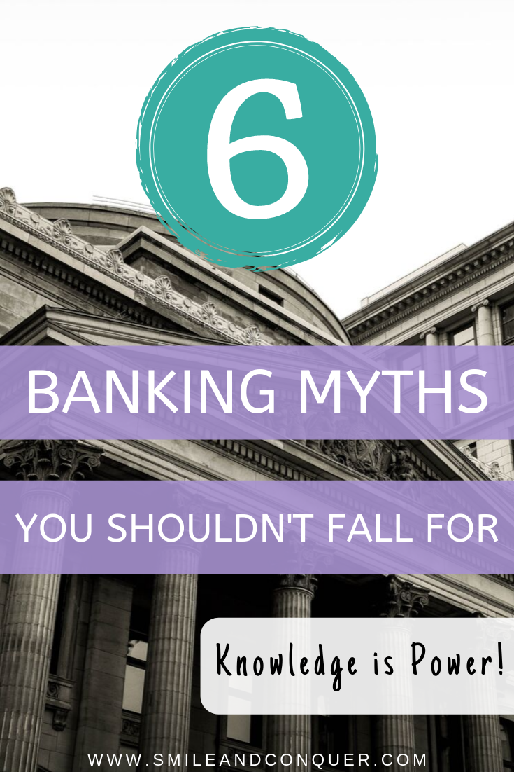 Ever felt like you're getting scammed by the big bad bank? You're not alone. Educate yourself on these six common banking myths so you know when you're getting sold trash.