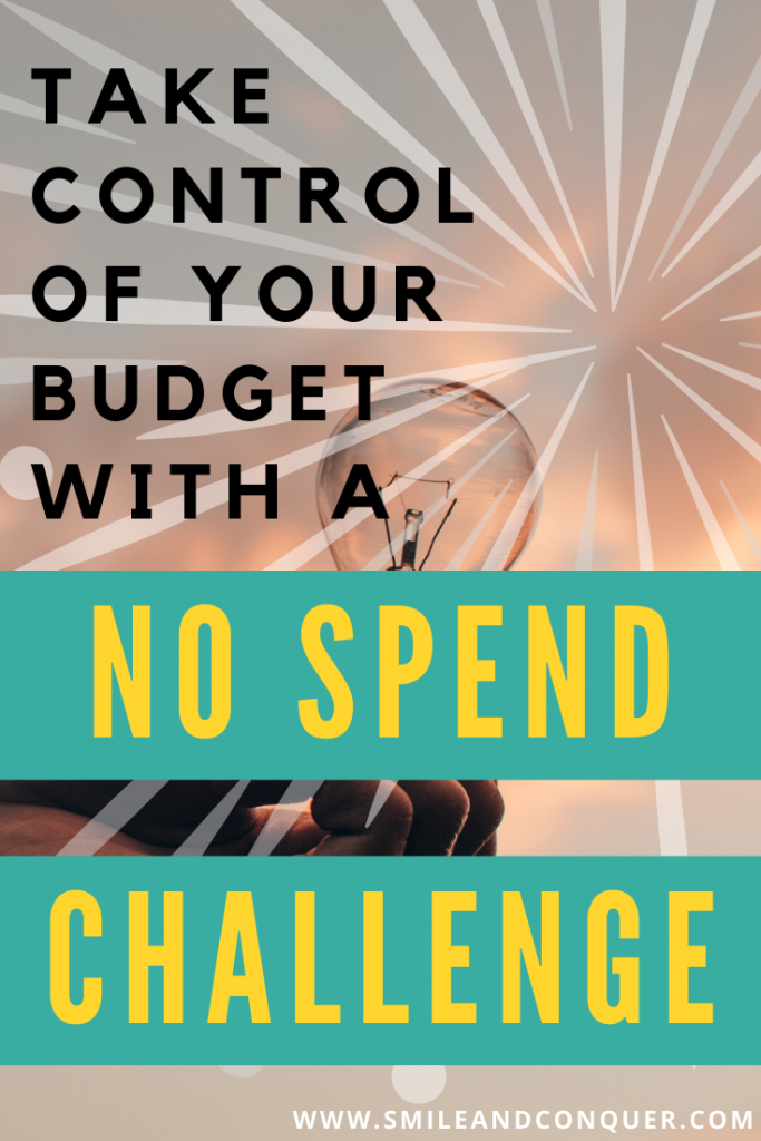 Does your spending ever feel out of control? That happens to all of us, but you can help rein it back in with a no spend challenge!